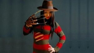 What color is Freddy Kruger's sweater?