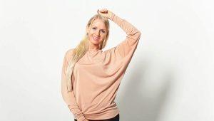 Sweat-shirt chauve-souris