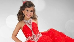 Beautiful children's evening dresses