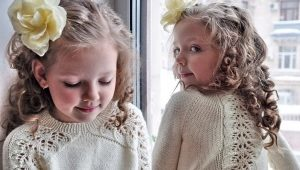 Beaux chandails tricotés pour les filles