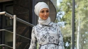 Elegant and homemade Muslim dresses