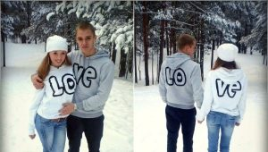 Cool hoodies with inscriptions and pictures