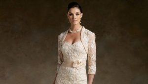 Evening wedding dresses for mom brides
