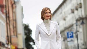 Cappotto da donna per terra