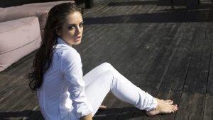 Come indossare pantaloni bianchi?