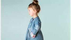 Cappotto di jeans per ragazze