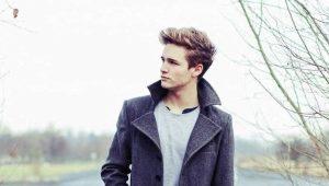 Cappotto da uomo classico