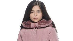 Jesenné kabát pre dievčatá