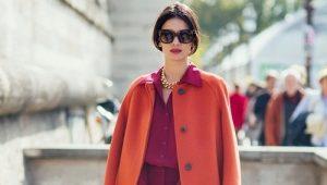 Cosa posso indossare con un cappotto arancione?