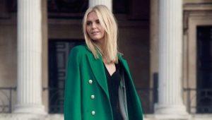 Čo môžem nosiť so zeleným plášťom?