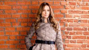 Štýlový dámsky prešívaný kabát