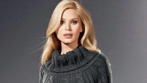 Women's knitted tunics
