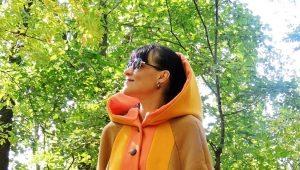 Cappotto da donna nello stile di boho
