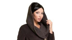 Cappotto lavorato a maglia da donna