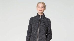 Cappotto di tweed da donna