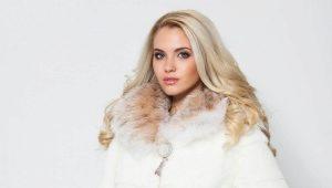Kot bulu putih kembali dalam fesyen!