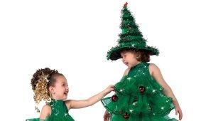 Oblek pre dievčatá na Nový rok