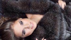 Manteau de fourrure de castor