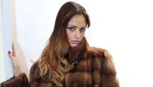 Wild Mink Fur Coat