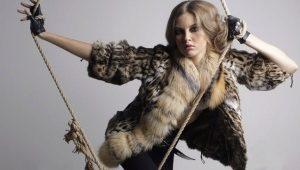 Reed Cat Fur Coat