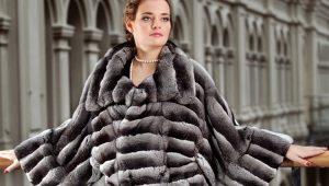 Manteau de fourrure de lapin