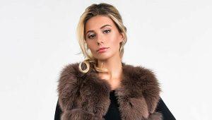 haină de blană, vestă