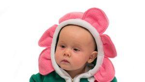 Traje de lana para niños