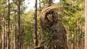 Costume de camouflage