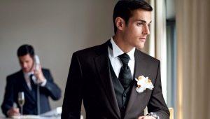 Trajes de hombre para la boda.