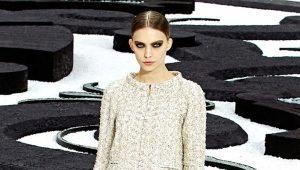 Abito in tweed per donna
