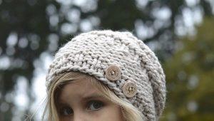 Chapeaux tricotés pour les filles