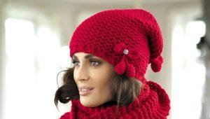 Kit femme: bonnet et écharpe