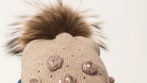 Chapeaux d'hiver pour les filles