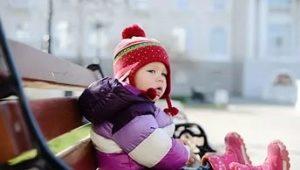 Detské zimné topánky rýchlo pre dievča a chlapca