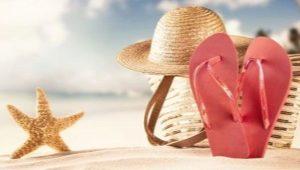 Ardoises en caoutchouc ou mode de plage