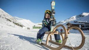Detské lyžiarske topánky