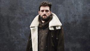 Fínske kožené topánky pre mužov na zimu