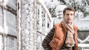 Bottes d'hiver pour hommes avec fourrure naturelle