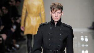 Bottes d'hiver en cuir pour hommes