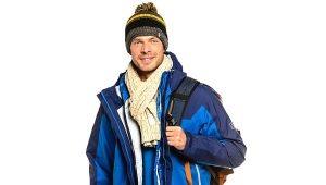 Bottes de randonnée d'hiver
