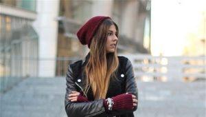 Bottes d'hiver pour femmes en cuir véritable