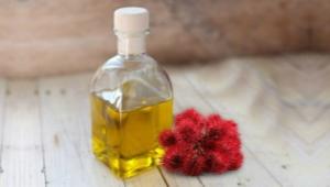 Castor oil for the face