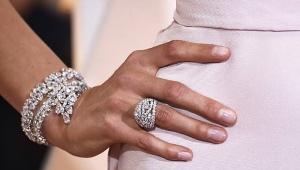 Brățară din aur alb cu diamante