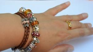 Bracelet en cuir Pandora