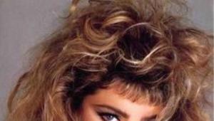 Maquillaje de los años 90.