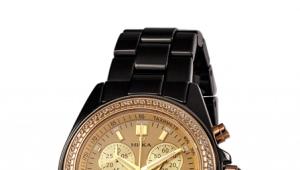 La montre au poignet de Nick