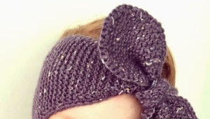 Bandeau tricoté pour les filles