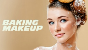 Bake-up makeup