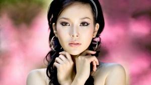 Ázijské očné make-up
