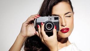 Trucco per un servizio fotografico